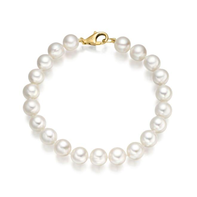 Freshwater pear bracelet