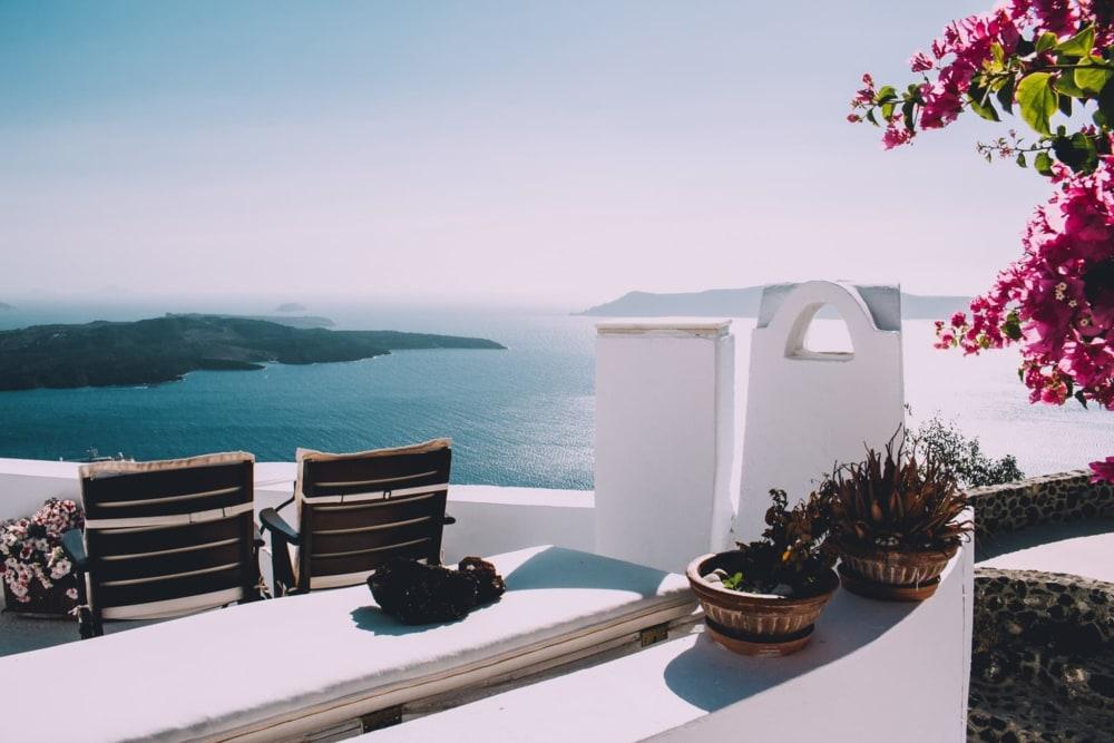 hotel santorini h tel de luxe santorin. Black Bedroom Furniture Sets. Home Design Ideas
