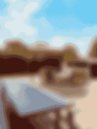 jardin - canapé - extérieur - maison hiwwa - cap ferret
