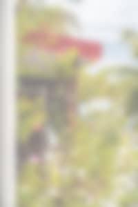 entrée du bungalow 15 - vacances aux Antilles