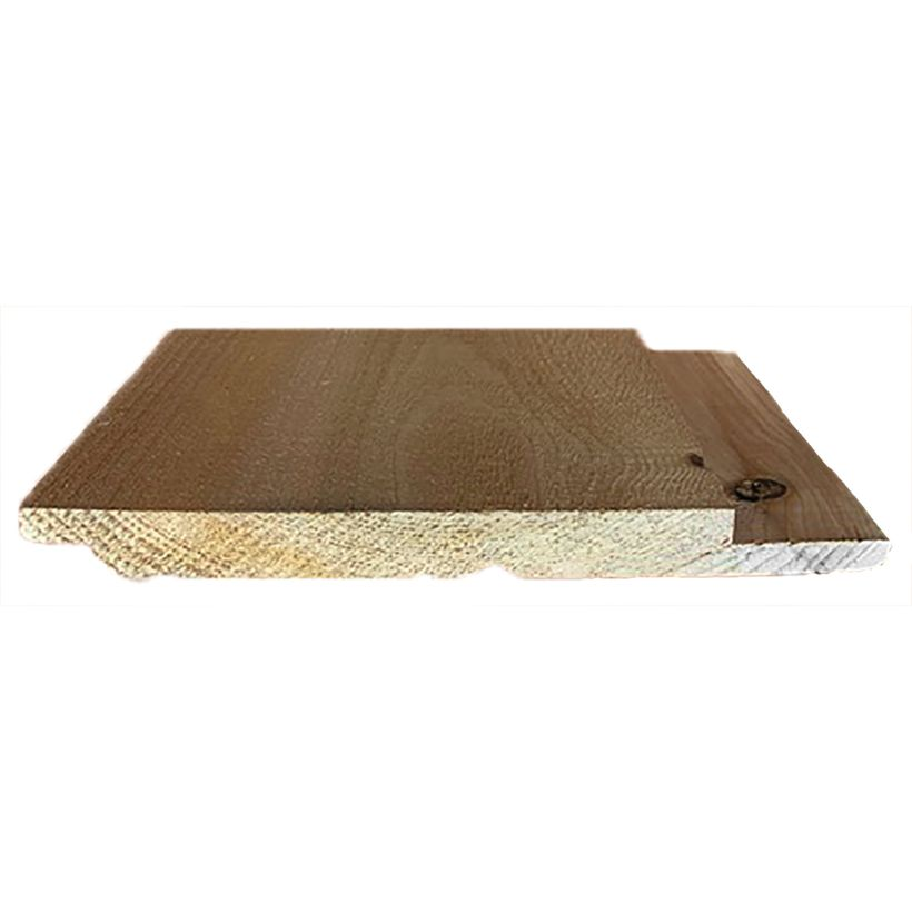 1 x 10 Ruff Cedar Channel Lap Siding
