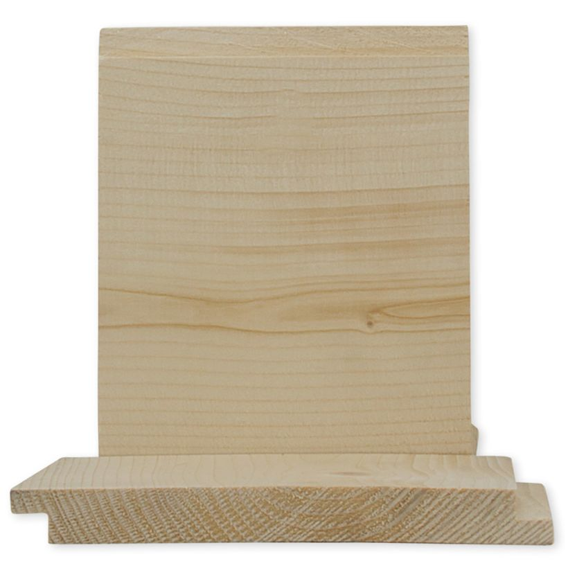 1 x 10 Pine/Spruce Shiplap (Random Lengths)
