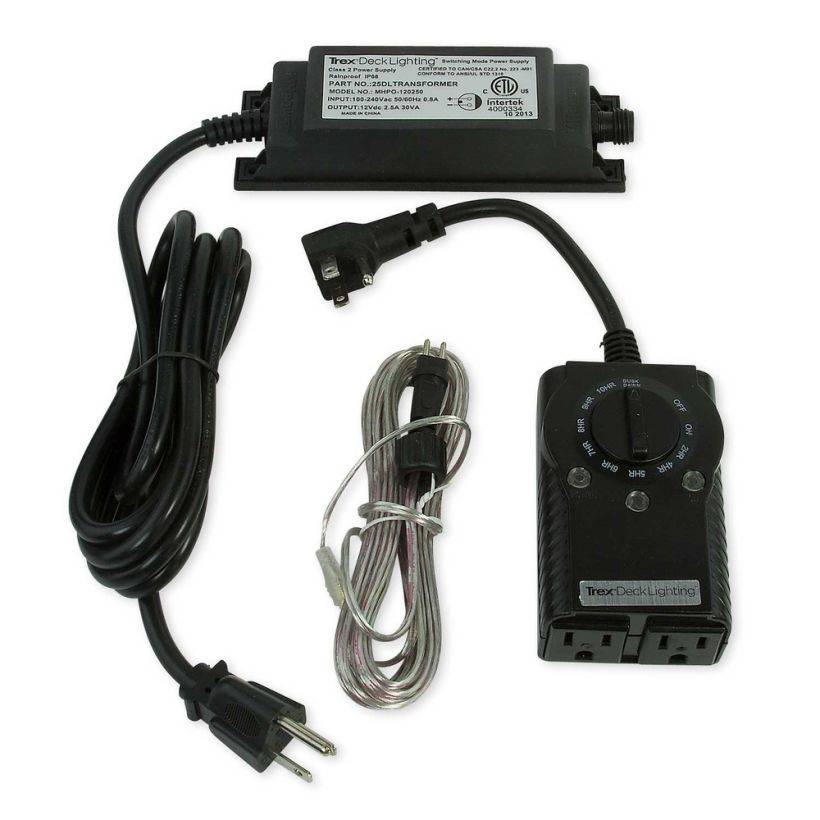 Trex DeckLighting LED Transformer with Timer