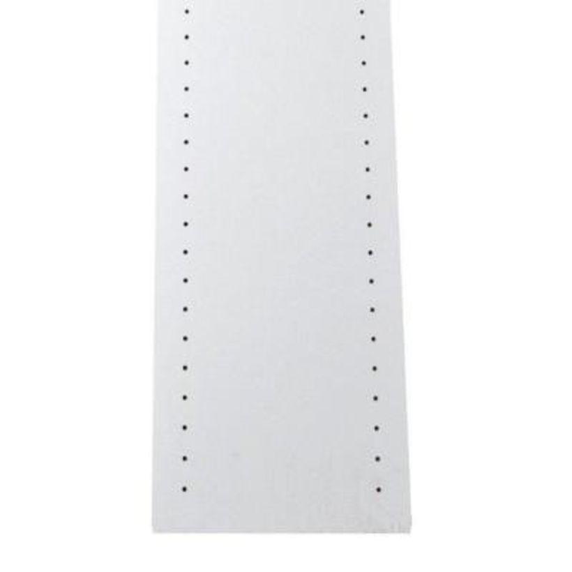 MelaGard White Melamine Shelving - Drilled Standards
