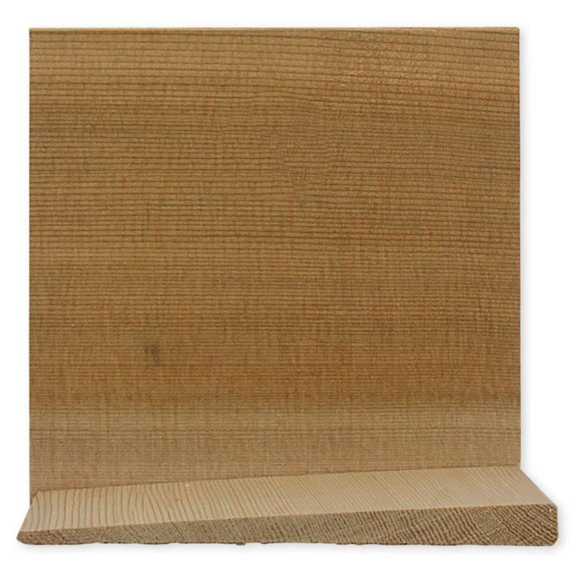 3/4 x 10 Aye & Better Cedar Bevel Siding  ( 6pc/bdl)