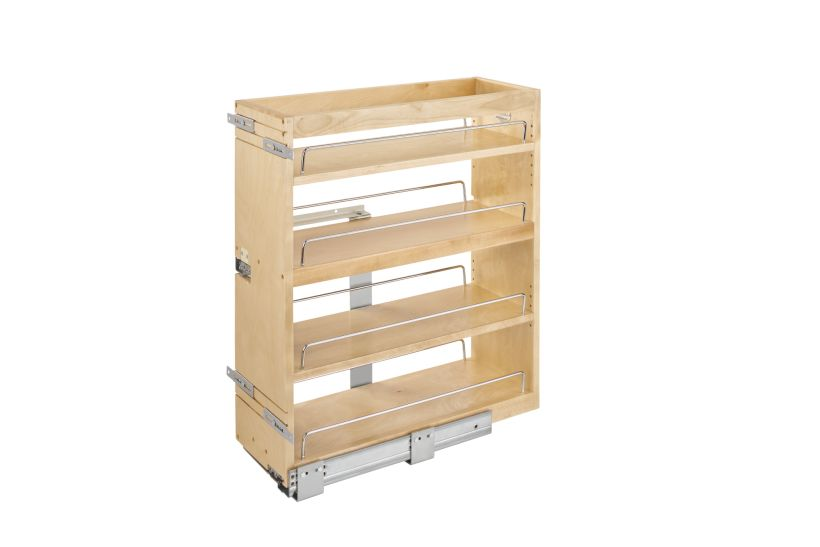 449 Series Base Cabinet Bottom and Side Mount Pullout Organizer - BLUMOTION Soft-Close
