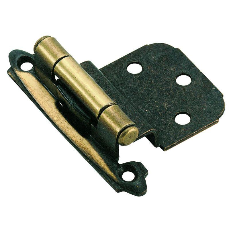 """3/8"""" (10mm) Inset Hinge - 2-3/4"""" L x 2-1/16"""" W x 5/8"""" H"""