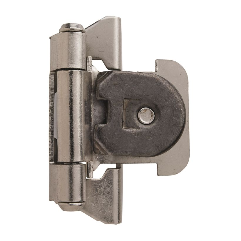"1/4"" (6mm) Overlay Single Demountable Hinge"