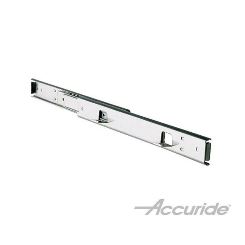 Accuride 322 100 lb Light-Duty Slide with Over Travel and Quick Mounting Tab