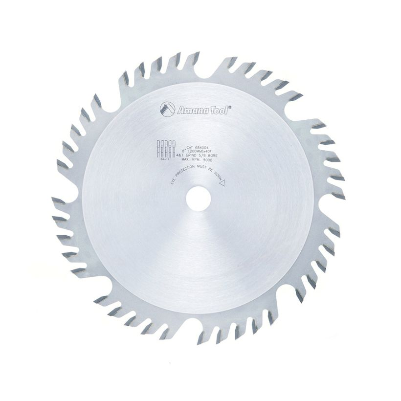 Amana Tool Combination Ripping and Crosscut Saw Blade, 8 in x 40T