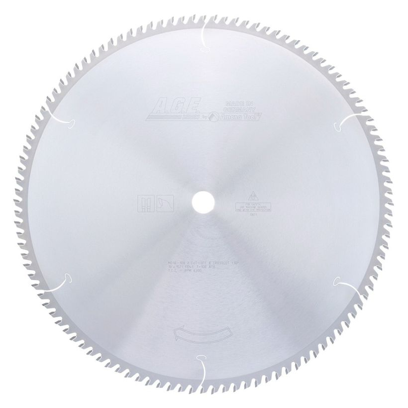 Amana Tool A.G.E. Saw Blades Cut-Off and Crosscut Circular Saw Blade, 18 in x 108T