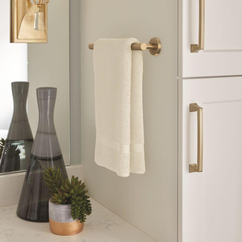 "Arrondi™ 9"" (229mm) Center to Center Towel Bar"