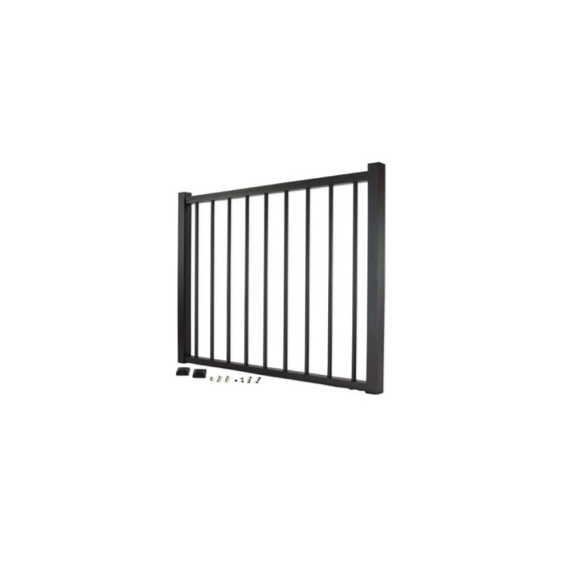 Trex Aluminum Gate with Round Balusters - 36 inch
