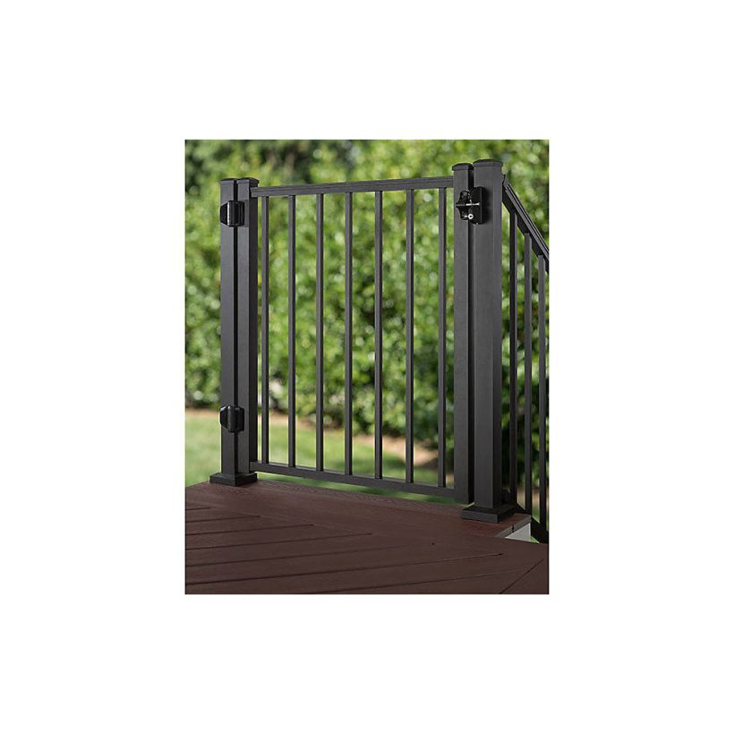 Trex Aluminum Gate with Square Balusters - 36 inch