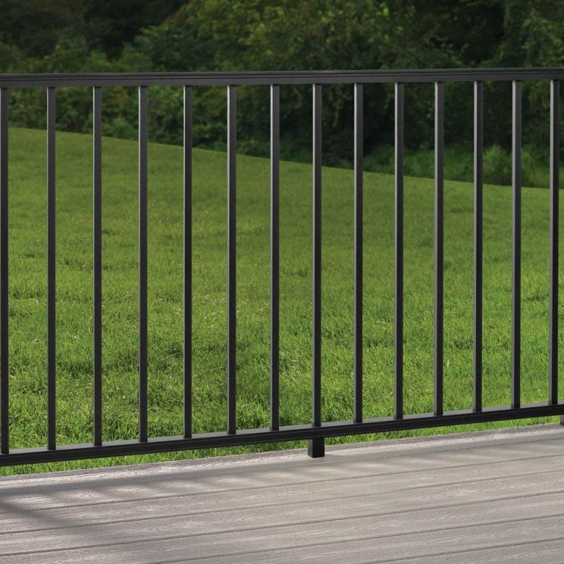 Signature Aluminum Rail Kit with Square Balusters - 42""