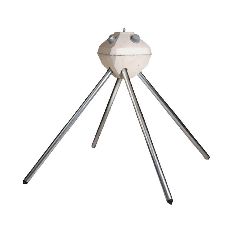Diamond Pier Galvanized Steel Pin for Foundation System