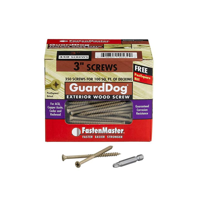 GuardDog Exterior Wood Screw - Box of 350