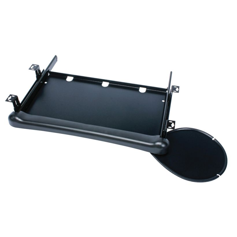 KV 75 lb Basic Keyboard Drawer with Palm Rest and Mousing Surface