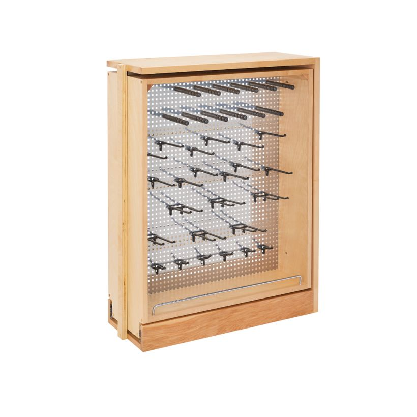 433 Series Pull-Out Soft-Close Base Cabinet Filler Organizer