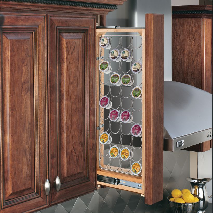 432 Series Pull-Out Wall Cabinet K-Cup Accessory