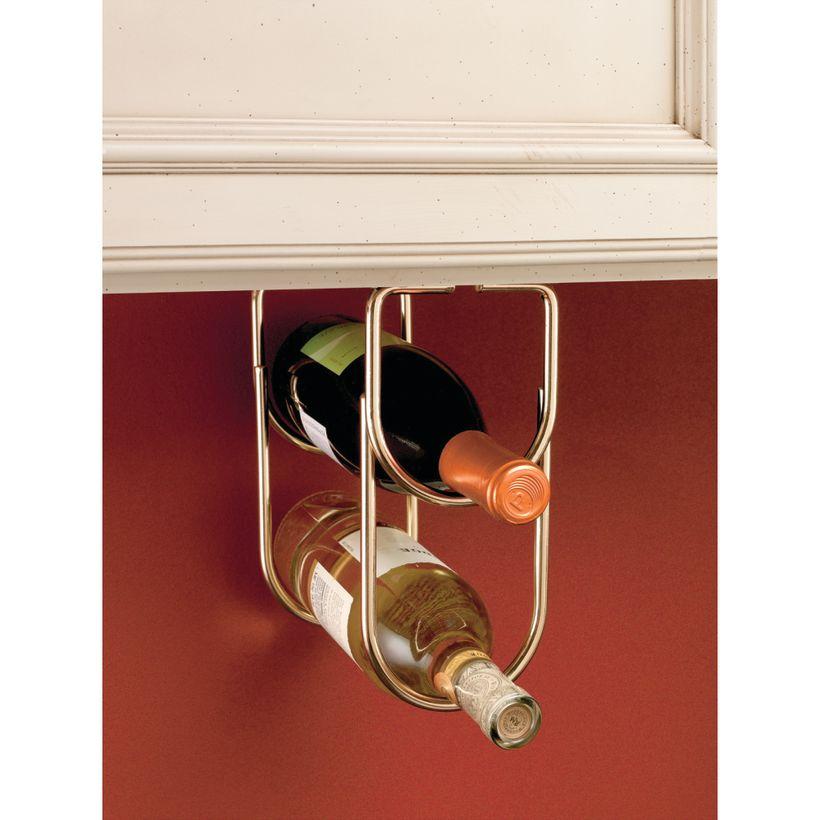 3000 Series Wine Bottle Under Cabinet Organizer