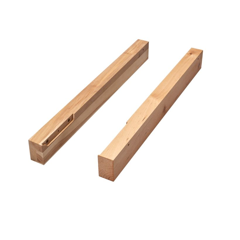 4WCTM Series Accessories - Spacer Kit for Wood Top Mount Waste Containers
