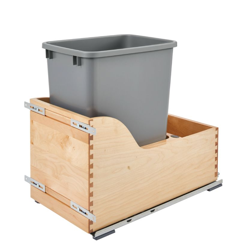 4WCSD Series 110V Electric Assist Bottom Mount Waste Container