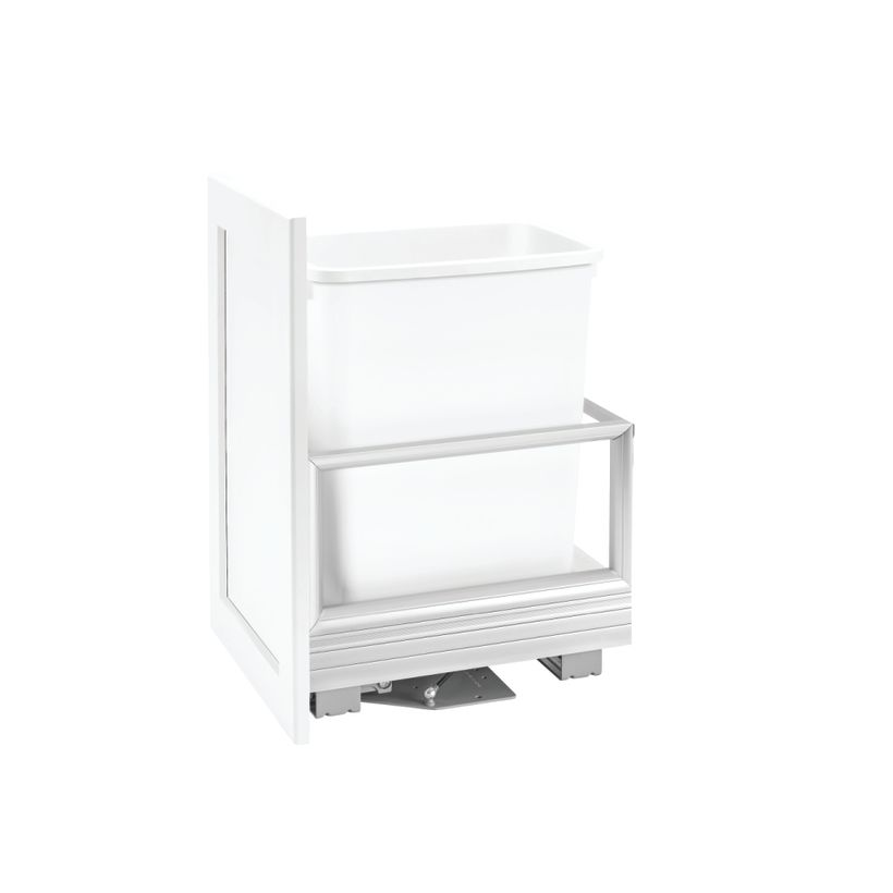 5149 Series Aluminum Bottom Mount Rev-A-Motion® Pull-Out-Waste Container