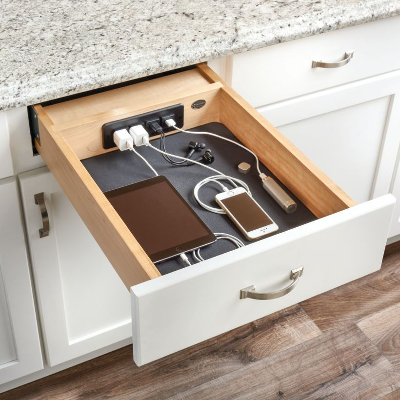 4WCDB Series Wood Charging Drawer