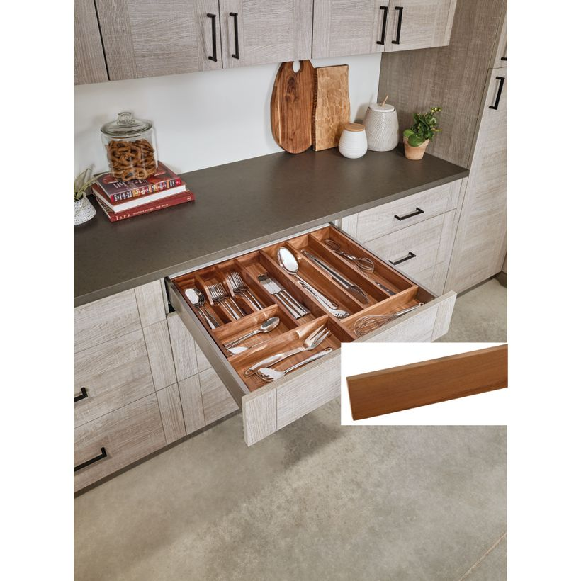 4WD Series Walnut Wood Divider For Drawers