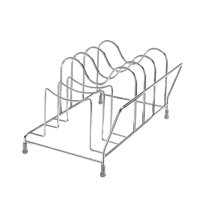 5730 Series Accessories: Drop-In Cookware Organizer for Soft-Close Pull-Out Chrome Baskets