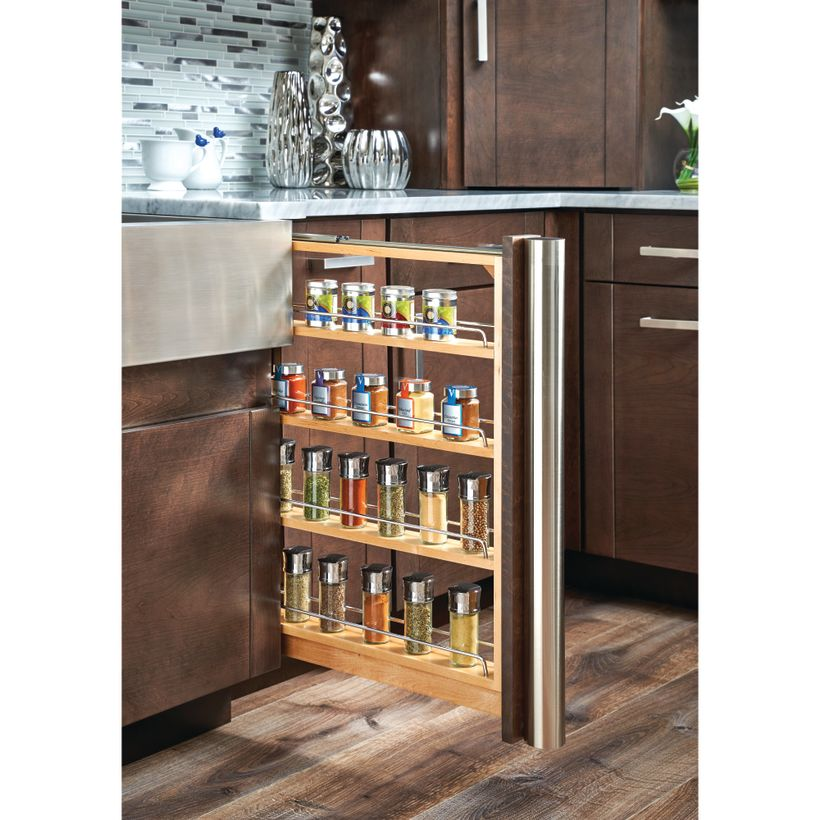 432 Series Pull-Out Base Cabinet Filler with Blumotion Soft-Close Slide