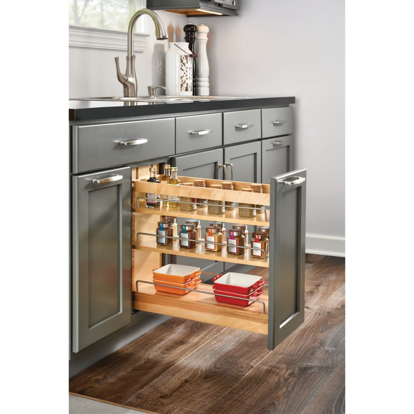 448 Series Base Cabinet Organizer With Blumotion Soft Close for Drawer/Door