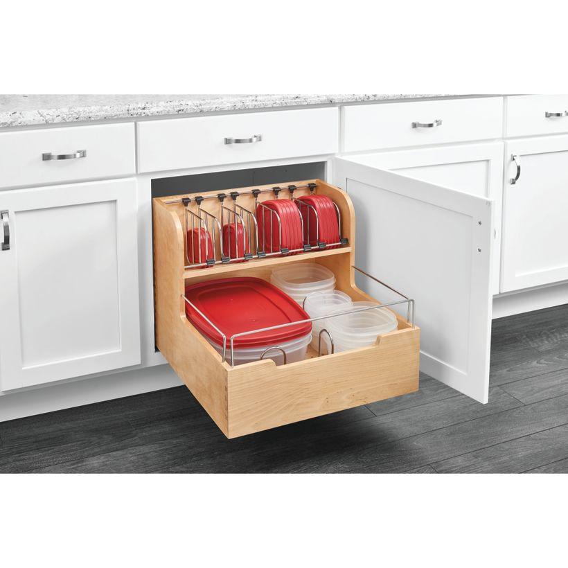 4FSCO Series Blumotion™ Soft-Close Food Storage Container Organizer