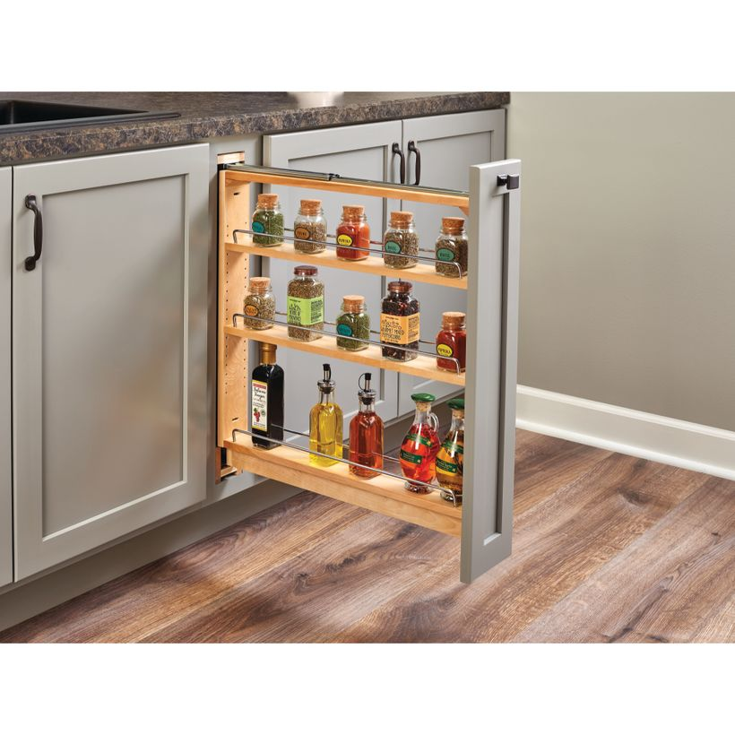 438 Series Pull-Out Base Cabinet Organizer