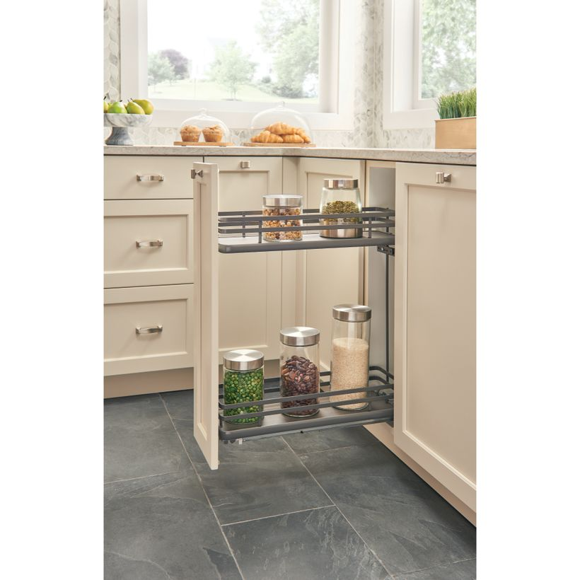 5322 Series Full Access Contemporary Base Cabinet Pull-Out With Soft-Close