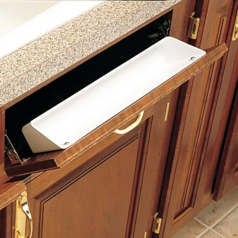 6581 Series Sink Front Tip-Out Tray - Tray Only