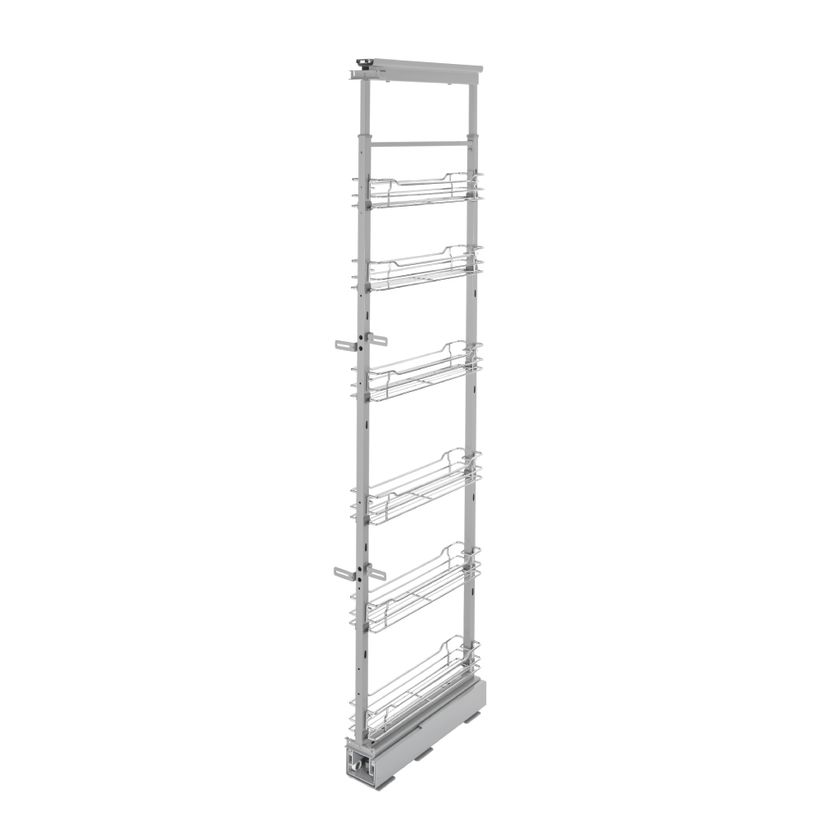 5700 Series Soft-Close Chrome Pull-Out Pantry