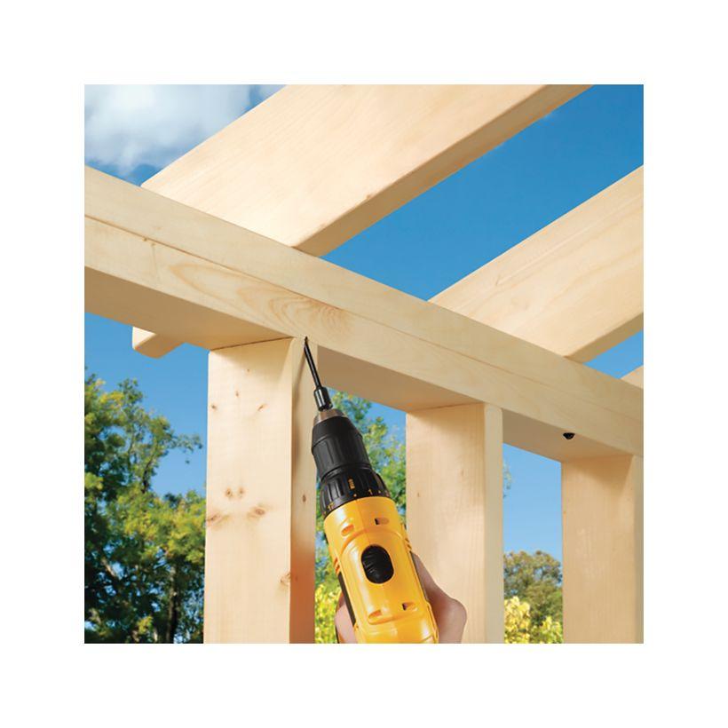 TimberLOK Structural Wood Screw - 500 Piece Bucket
