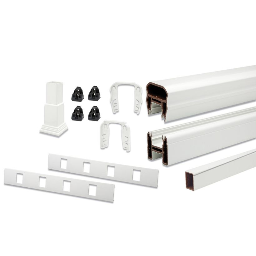 Trex Transcend Rail Kit with Composite Balusters - 42 inches