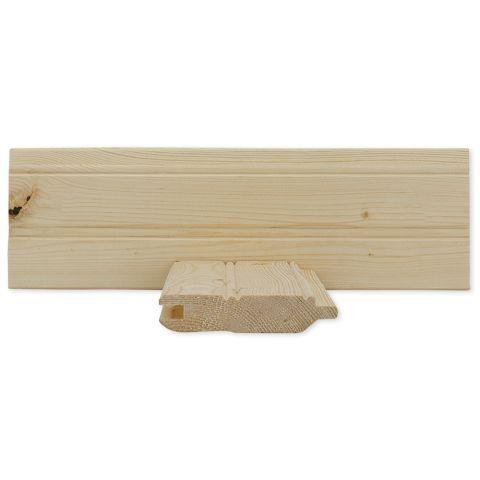 1 x 4 Pine Beaded Ceiling