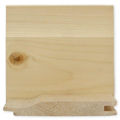 #3 Ponderosa Pine Drop Siding Pattern #106 - 1 x 6 Random Lengths