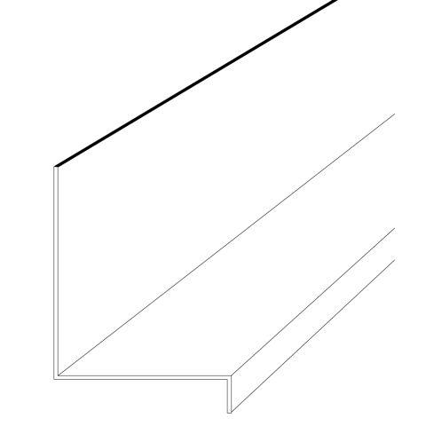 """Rollex Aluminum Window Cap - 1-1/4"""""""