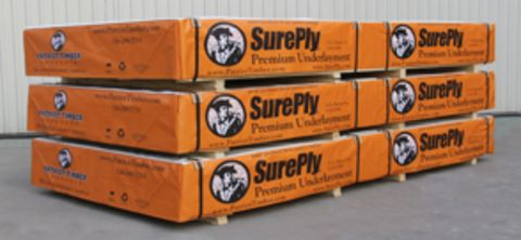 Patriot Timber Sureply Premium Underlayment 5 Ply - SurePly®