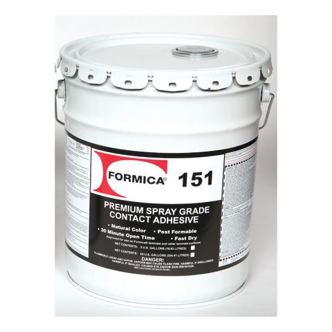 Choice Brands Formica F-151 Extremely Flammable Premium Spray Grade Contact Adhesive - Natural