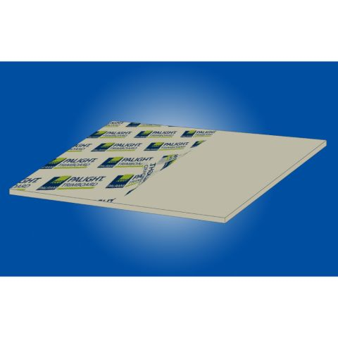 "Palram Palight Trim Smooth Sheet Stock - 3/4"" Thickness"
