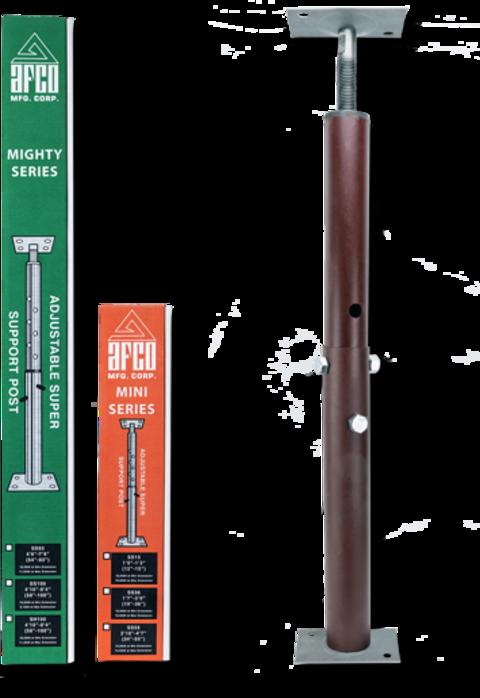 """AFCO Super Support Post Adjustable Jack (4'10"""" to 8'4"""")"""