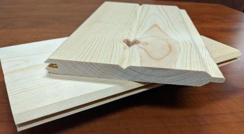 1 x 6 Ponderosa Pine Paneling - Car Siding/WP4