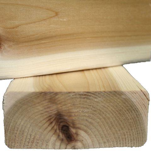 2 x 4 Western Red Cedar S4S Appearance Grade Boards