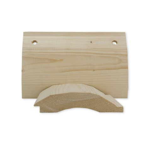 2 x 8 Spruce, Pine & Fir Rustic Hewn Log Cabin Siding (Random Lengths)